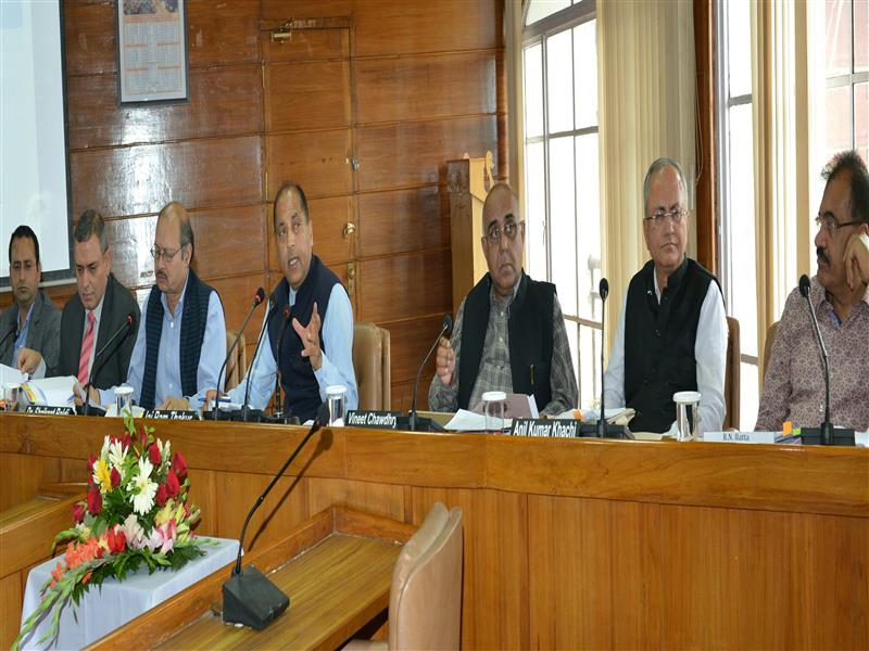 CM asks all departments to work vigorously for implementation of developmental projects